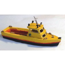 F5f 26ft Water Taxi/Fishing Boat Unpainted Kit OO Scale 1:76