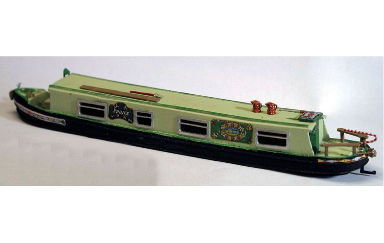 F5g 52ft Holiday Canal Boat Resin body Unpainted Kit OO Scale 1:76