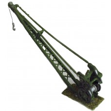F6e Lattice Canalside Loading Crane Unpainted Kit OO Scale 1:76