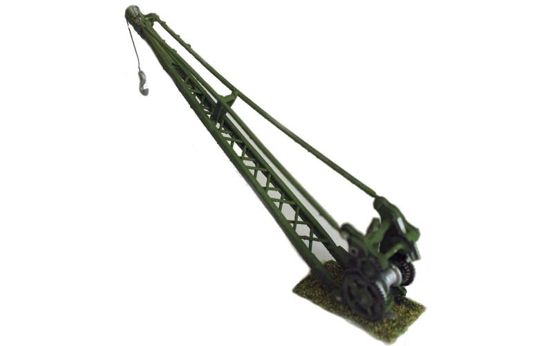 F6e Lattice Canalside Loading Crane Unpainted Kit OO Scale 1:76