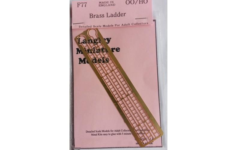 F77 00 ladders F77 Unpainted Kit OO Scale 1:76