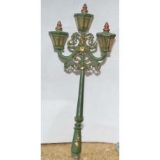 F81 Ornate octagonal Street Lamp Unpainted Kit OO Scale 1:76
