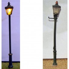 F82 Square street lamps x 4 Unpainted Kit OO Scale 1:76