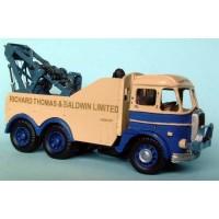 G104 Foden S20 6 wheel breakdown rig 1954 Unpainted Kit OO Scale 1:76