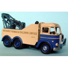 G104 Foden S20 6 wheel breakdown rig 1954 Unpainted Kit OO Scale 1:76