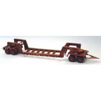 G126 100 ton Girder frame trailer Unpainted Kit OO Scale 1:76