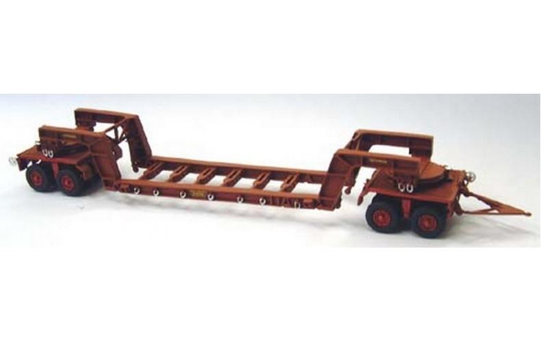 G126 100 ton Girder frame trailer Unpainted Kit OO Scale 1:76