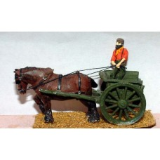 G15 Tumbrel - Farm Cart Unpainted Kit OO Scale 1:76