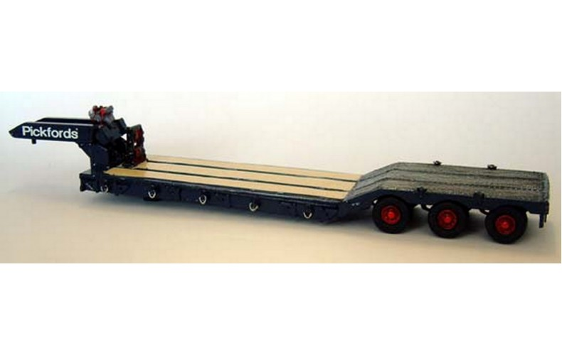 G171 70ton H/Haulage Low Loader (triple axle) Unpainted Kit OO Scale 1:76