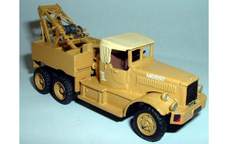 G184 Diamond T 'Military cab' Army wheels Unpainted Kit OO Scale 1:76