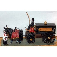 G18 Victorian horse drawn Hearse Unpainted Kit OO Scale 1:76