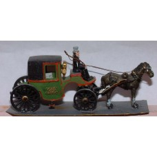 G19-G20 Brougham - single or twin horse Unpainted Kit OO Scale 1:76