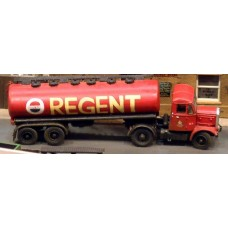 G60a Oval bulk tanker trailer 1950's Unpainted Kit OO Scale 1:76