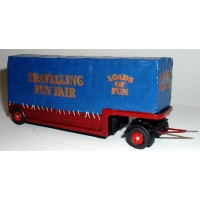 G79 Canvas' covered Heavy Haulage trailer Unpainted Kit OO Scale 1:76