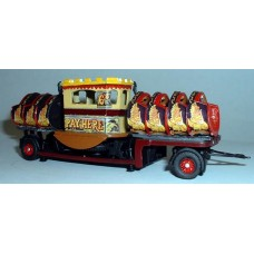G96 Scammell R8 & Waltzer Rig trailer Unpainted Kit OO Scale 1:76