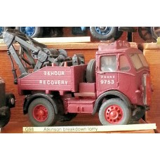 G98 Atkinson breakdown lorry Unpainted Kit OO Scale 1:76