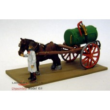 G9 horse drawn Water Dandy (cart) Unpainted Kit OO Scale 1:76