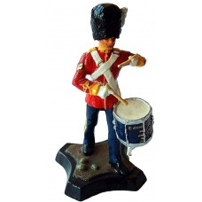 GB10 Royal Scots Dragoon Guards - Drummer GB10 Unpainted Kit 54mm Scale
