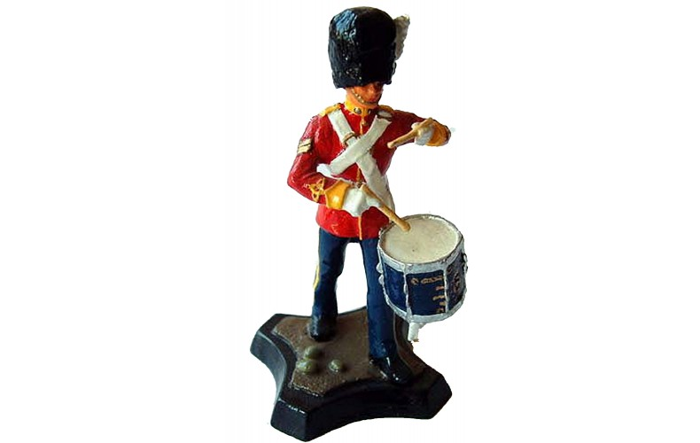GB10p Royal Scots Dragoon Guards - Drummer GB10p Painted Model 54mm Scale