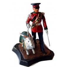 GB11 Royal Regiment of Wales Goat Major & Mascot GB11 Unpainted Kit 54mm Scale