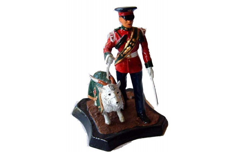GB11 Royal Regiment of Wales Goat Major & Mascot GB11 Unpainted Kit 54mm Scale