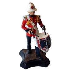 GB12 Kings Own Royal Border Regiment - Drummer GB12 Unpainted Kit 54mm Scale