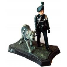 GB13 Royal Irish Ranger with Wolfhound Mascot GB13 Unpainted Kit 54mm Scale