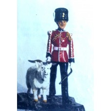 GB16 Royal Welsh Fusilier with Goat Mascot GB16 Unpainted Kit 54mm Scale