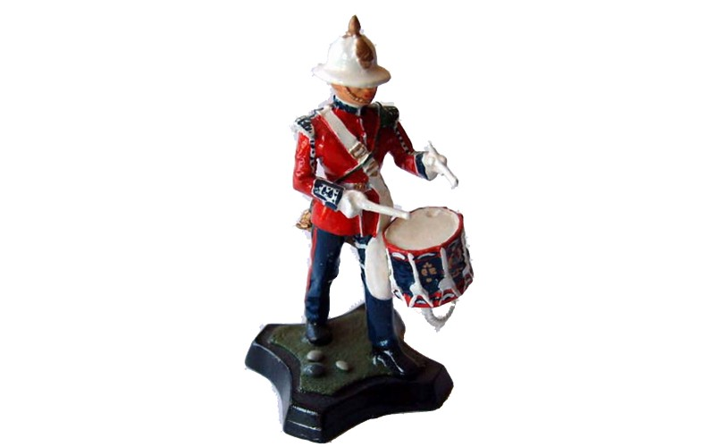 GB18p Royal Marine Light Infantry - Drummer GB18p Painted Model 54mm Scale