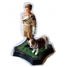 GB2 East Yorkshire Dog Corporal & St. Bernard GB2 Unpainted Kit 54mm Scale