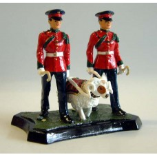 GB8 Worcester & Sherwood Foresters Ram Major GB8 Unpainted Kit 54mm Scale