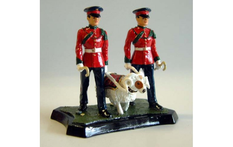 GB8p Worcester & Sherwood Foresters Ram Major GB8p Painted Model 54mm Scale