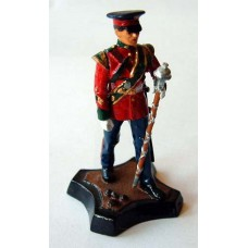 GB9 Worcester & Sherwood Foresters Drum Major GB9 Unpainted Kit 54mm Scale