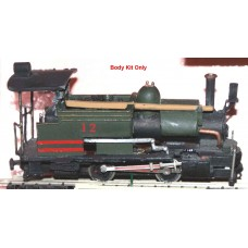 I1 Darjeeling Himalayan Tank Requires Chassis Arnold 060 Unpainted Kit OO Scale 1:76