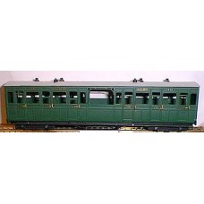 J1 Lynton & Barnstaple Special 3rd coach Unpainted Kit OO Scale 1:76