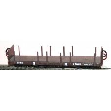 J6 L. & B. Bogie Platform Wagon Unpainted Kit OO Scale 1:76