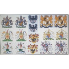 KS19 Waterslide Transfers - Coats of Arms (54mm scale)