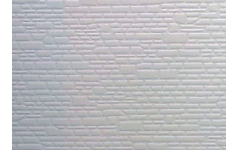 V104 Smooth Dressed Stone Sheet (large Stone) OO scale 1/76th