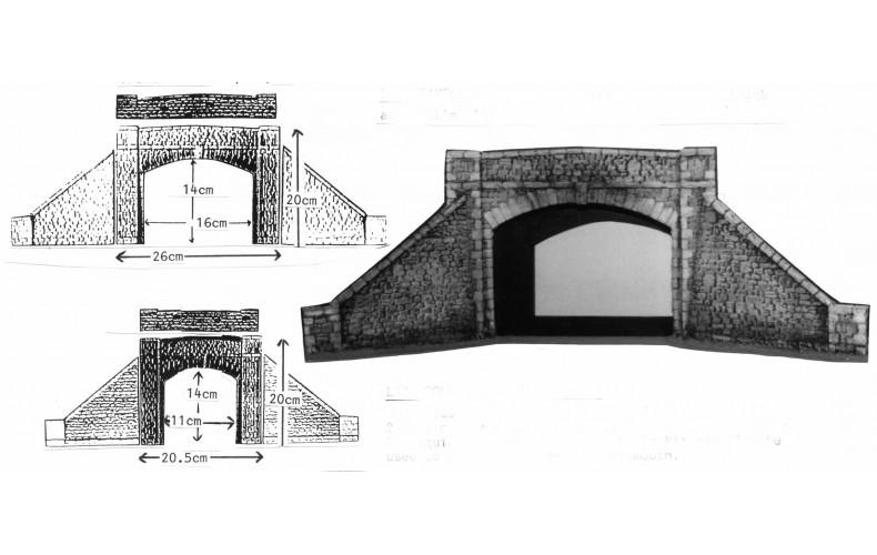 L18 Single Road-Over Bridge Unpainted Kit O Scale 1:43