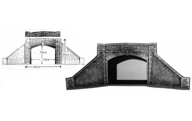 L17 Double Road-Over Bridge Unpainted Kit O Scale 1:43