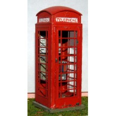 L3 Telephone Box series 6 1936 to present Unpainted Kit O Scale 1:43