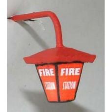L42 Illuminated kit 'Fire Station' wall lamp Unpainted Kit O Scale 1:43