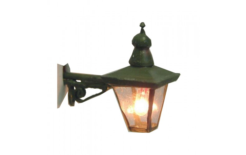 L44 Illum kit Plain wall mounted lamp gow bulb Unpainted Kit O Scale 1:43