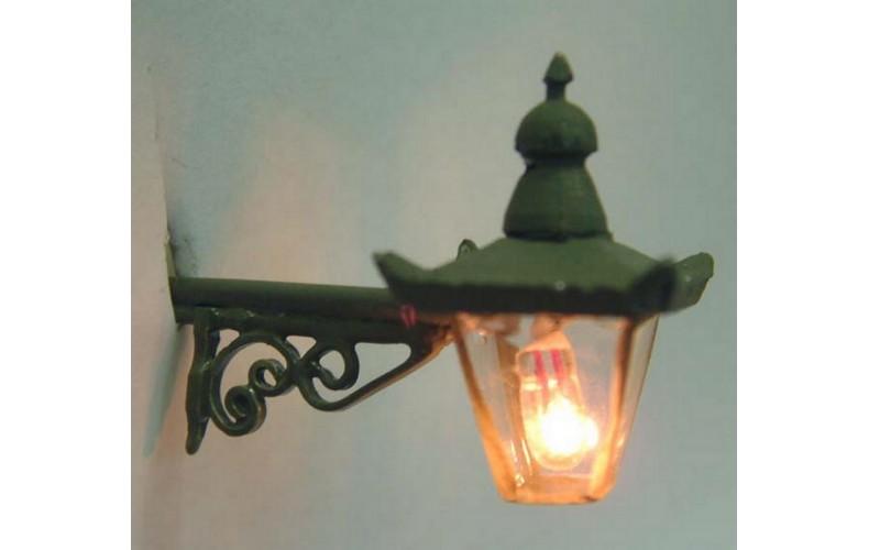 L45 Illum kit Ornate wall mount lamp gow bulb Unpainted Kit O Scale 1:43