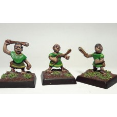LMF13 Borderlands Militia Slingers Unpainted 28mm Scale