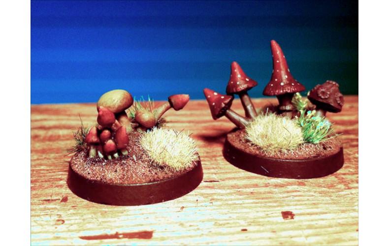 LMF4 Mushroom Fungi Unpainted 28mm Scale