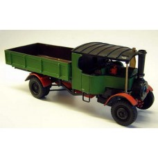 M14 Foden 'C' type Steam Wagon Unpainted Kit O Scale 1:43