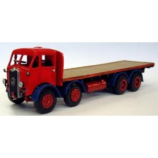 M19 Atkinson L1585 8 wheel flatbed lorry 1947 Unpainted Kit O Scale 1:43