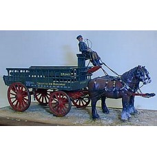M1 LBSC/SR 5ton Horse Drawn Wagon Unpainted Kit O Scale 1:43