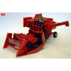 M8 Combine Harvester Massey Ferg-Tanker Unpainted Kit O Scale 1:43